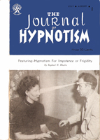 NGH Journal of Hypnotism - July/August 1953