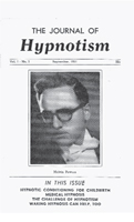 NGH Journal of Hypnotism - September 1951 - Melvin Powers