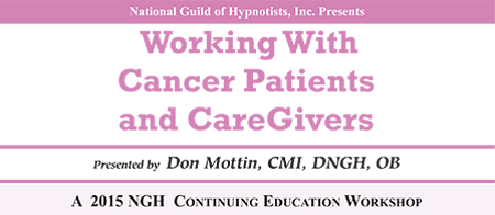 Working With Cancer Patients & Care Givers