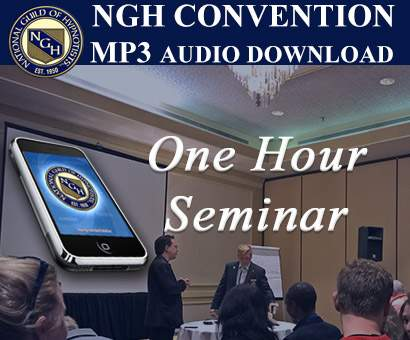 Jason Linett - Ride Your Elevator Speech To The Top - 2017 NGH Convention -  One Hour Seminar #210803 - (MP3 Audio Download)